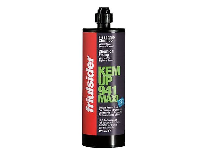 Hemija za ankerisanje KEM-UP VINILESTER  941/420ml  943/300ml